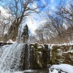 ナイアガラの滝 一部凍結の画像や映像が凄い!